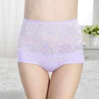 Luxury Lady lace high waist panty underwear for big women underwear fashion show