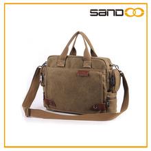 Factory men shoulder messenger bag, brand design canvas men handbag