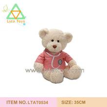 OEM Soft Light Brown Doctor Teddy Bear
