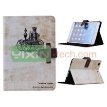 For iPad mini 2 Leather Case, for ipad mini 2 cartoon case, retro case for ipad