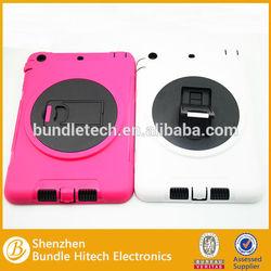 2014 hard tablet PC case for ipad mini 2 ,hybrid case for ipad mini