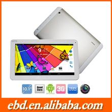 "new model 3G tablet 10"" MTK8382 Quad core 1GB/8GB Dual Camera Bluetooth GPS Screen tablet PC"