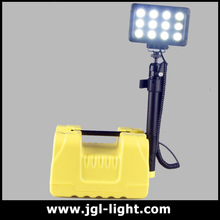 Quality Tested led remote area lighting system RALS-9936 Emergency telescopic mast light