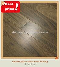 Hot sale smooth Asian walnut hardwood flooring