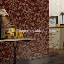 2014 non woven decorative wallpaper for bedroom