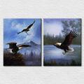 volare falco arte della parete foto su tela per sala decorazione ufficio