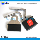 high impact plastic and steel seat belt buckle