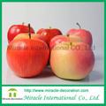 vivas artificial red apple frutas artesanato para decoração de casa