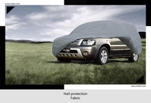 Designer breathable water resistent car cover