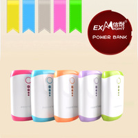 Dual USB 6000mAh solar power bank for samsung galaxy note 3&cell phones with plastic housing