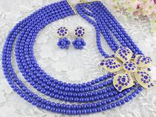 Beads jewelry necklace jewelry set for lady's wedding BJ0010