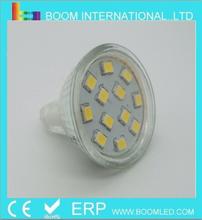 12VDC MR11 3W LED Spot Lamp 12SMD 2835