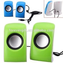 Portable Mini Thumb Design Sound Box Stereo Speaker USB Mp3 Speaker Music Loudspeaker