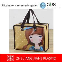 LDPE/HDPE Material printed plastic shopping bag