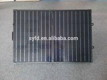 100W 12V mono folding solar panel