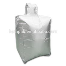 1 Ton Aluminum Bulk Container Liner Bag for Plastic Resin