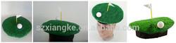 Golf Hole In One Fancy Dress Costume Grass Hat