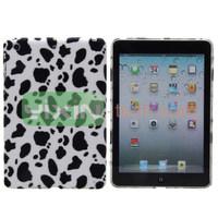 Leopard Cloth Coated Back Hard Case For iPad Mini 2
