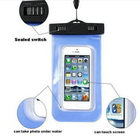 China manufacturer clear transparent PVC phone waterproof case bag for Iphone 5 5S