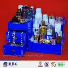 wholesale 2 layers acrylic 3 mm decorative drawer storage box
