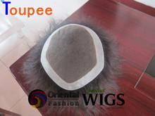 2014 new 6A 100% Peruvian human virgin hair wigs hair piece toupees for black men