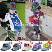 Spring children's baseball cap hat TAKE cowboy hat 5 color MZ0671