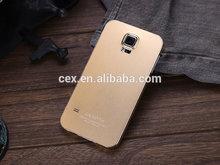For Samsung Galaxy S5 i9600 Fashion Luxury Brushed Aluminium Metal Hard Case