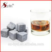 grado superiore pietra ollare naturale o granito cubetto di ghiaccio