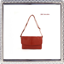 Crocodile Embossed Leather Handbags