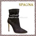 Giày cao gót ngắn mắt cá cho phụ nữ gợi cảm nóng thời trang giày cao gót