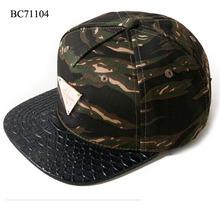 camouflage Snapback Hat Wholesale/Custom Hat Snapback Cap