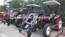 CE Certificate ! High Quality YTO/ Foton/ DQ/John Deere/Kubota Gear Drive Farm/Garden Compact Wheel Tractor