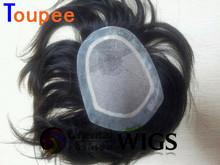 2014 high quality 100% Brazilian virgin human hair men hair pieces women toupee