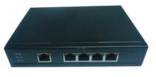 5 ports industrial gigabit PoE+ Unmanaged Ethernet Switch