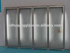 2014 hot selling freezer room glass door / wholesale used appliances of glass door in New Zealand
