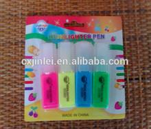 Mini Felt Tip Highlighter Marker Pens