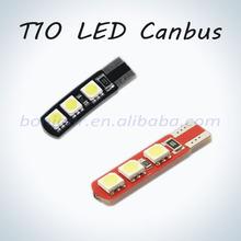 auto lamp led t10 led lighting automobile