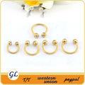 plaqué or indian anneau dans le nez piercing bcr de bijoux