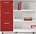 design moderno escritório mdf estante cor branca