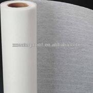 white polyester mat felt for SBS/APP bitumen rolls