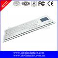 Industrial quiosco de metal del teclado con ras 64/llaves planas y el touchpad