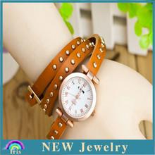 2015 top selling spanish leather bracelets cheap wholesale unique vintage style women magnetic bracelet watch YSW1004