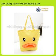 2014 New Giant Rubber Duck bag,Canvas shoulder bag for women(HDC077)