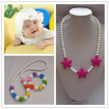 China Manufacturer New Product Food Grade BPA Free Silicone Heart Mom Necklace Wholesale Made In China