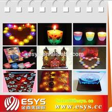 Fashion design cheap led lotus candle