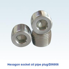 china special custom hexagon socket oil pipe plug from manufacturer