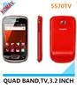komay 5570 التناظرية التلفزيون الهاتف المحمول مع ضوء الشعلة، المزدوج سيم بطاقات، بوصة 3.2 الهاتف المساعد الشخصي الرقمي