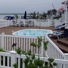 safety pool pvc fences