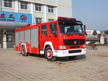 4x2 A type fire-extinguishing foam tanker at best price