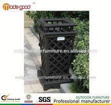 super cheap Cast Aluminium trash can/garbage bin/waste bin/dust bin